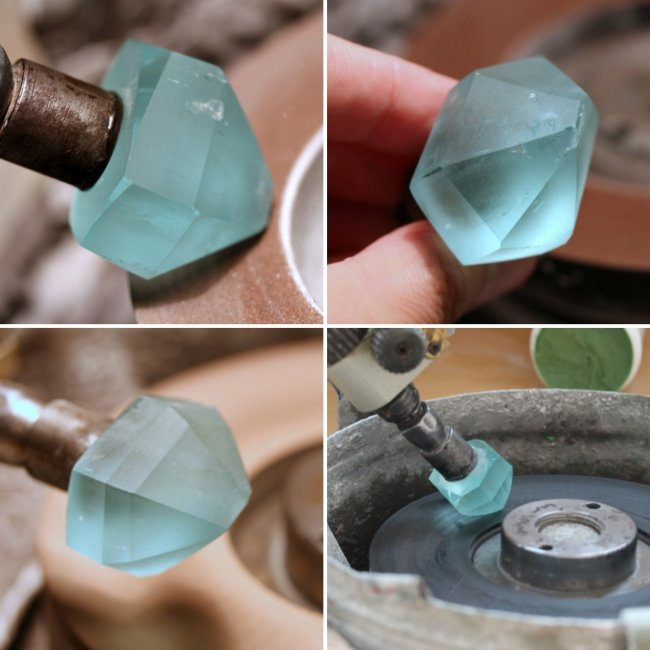 How to make a cut of stones (10 photos)